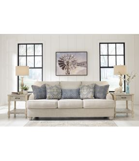 Charlotte Fabric 3 Seater Sofa